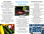 Hancock County Community Food Resources by Savannah Lowrey
