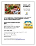 Knox County Community Food Resources by Mikayla Libby Gilbert