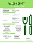 Waldo County Community Food Resources by Christin McDonough