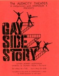 Gay Side Story Original Poster by Audacity Theater