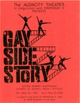 Gay Side Story Playbill by Gay Side Story Collection