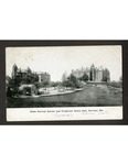 State Normal School and Frederick Robie Hall, Gorham, Me. by USM Special Collections