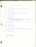 Tentative Colloqium Schedule