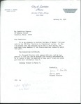 Letter from the Lewiston Public Library by Jane C. Smith