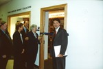 Madeleine Guigère Ribbon Cutting for the Franco-American Collection