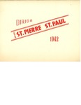 Cercles St. Pierre, St. Paul Certificate by St. Pierre and St. Paul