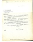 Letter for Scholarship to Study at Laval University by Douglas Alexander