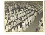 Lewiston High School 1943 Graduation Ceremony Photograph by Unknown