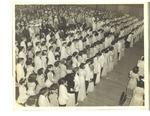 Lewiston High School 1943 Graduation Ceremony Photograph