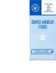 UMPG Franco-American Studies Brochure