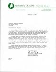 Letter from David T. Sullivan to Madeleine Giguère by David T. Sullivan