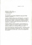 Letter from Donald F. Anspach to Konnilyn Feig by Donald F. Anspach