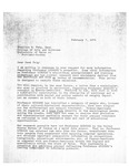 Letter from Donald F. Anspach to Konnilyn Feig