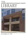 The Albert Brenner Glickman Family Library Dedication