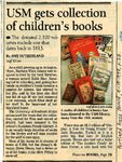 USM Gets Collection of Children's Books