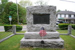Franklin, Maine: World War One Monument