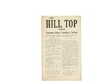 The Hill-Top Daily, Vol. 1, No. 1, 02/3/1947