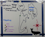 A Map of Phippsburg & Malaga Island from the Perspective of Tucker Buckminster by Becca Jordan