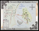 Turner's Map of Phippsburg and Malaga by Brianna Doty