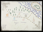 Map of Phippsburg and Malaga Island by Connor Currey
