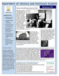 Department of History and Political Science Registration Newsletter Spring 2015