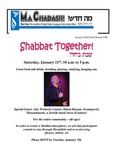 January 2020 by Temple Shalom Synagogue Center