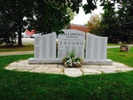 Hallowell, Maine: Veterans Monument