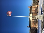 Waterville, Maine: Colby College Memorial Flagpole