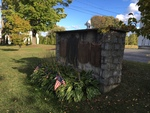 Albion, Maine: Veterans Memorial and Honor Roll Plaques