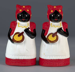 Aunt Jemima salt and pepper shakers by University of Southern Maine Special Collections