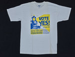 """VOTE YES! for human rights november '98 SOUTH PORTLAND CITIZENS FOR JUSTICE"""