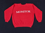 """[Front] """"MONITOR"""" [Back] """"REMEMBER THEIR NAMES CANDLELIGHT MARCH AGAINST AIDS WASHINGTON DC OCT 8, 1988 MONITOR"""""""