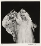 Person Wearing Wig, Robe, and Crown by Tom Antonik