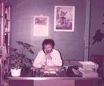 USM Gorham Library, Fall 1983 Ed Moore