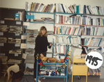 Woman in Library, '95