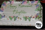 Phyllis' Retirement Cake by Marilyn MacDowell