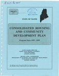 Consolidated Housing and Community Development Plan, 1995-1999