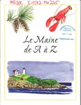 Le Maine de A à Z (Maine A to Z) by Office of Tourism, Department of Economic and Community Development