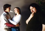 Rehearsal Photograph with The Count, Susanna and Figaro by University of Southern Maine Department of Theatre