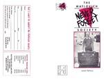 Matlovich Society (Fall 1997) by Matlovich Society