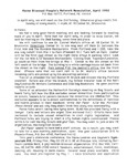Maine Bisexual People's Network Newsletter (04/1992) by BobBi Keppel