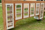 The Maine Chance Farm Renovation - Kitchen Cabinets by Marina Douglas