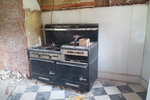 The Maine Chance Farm Renovation - Kitchen Stove by Marina Douglas
