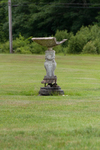 The Maine Chance Farm Renovation - Front Lawn Fountain by Marina Douglas