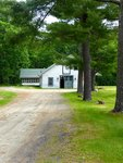 Stable of Maine Chance Farm by Jeanne Curran-Sarto