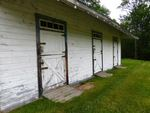 Stables at Maine Chance Farm, stable doors by Jeanne Curran-Sarto