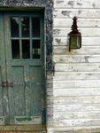 Maine Chance Farm, Stables, exterior lantern by Jeanne Curran-Sarto