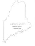 Maine Turnpike Authority Financial Report December 2016