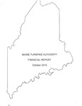 Maine Turnpike Authority Financial Report October 2015