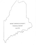 Maine Turnpike Authority Financial Report July 2015